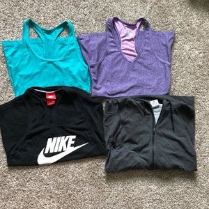 Tank tops Nike Under Armour XS